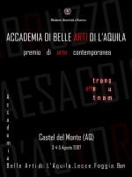 """""""Artetransumante"""", a cura di Sergio Nannicola e Patrizio Bassanin, Castel del Monte (AQ)"""