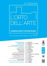 locandina l'orto dell'arte 2015 4 edizione