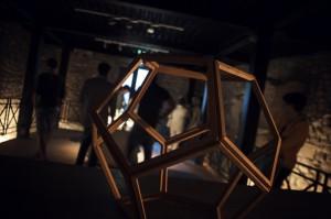 Carlo Nannicola - Etere Installazione - 2014 Cena d'artista 2014 Palazzetto Dei Nobili - 30 giugno 2014 L'Aquila (AQ) Photographed by Francesco Colantoni