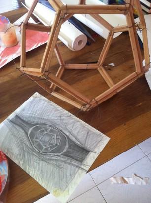 Carlo Nannicola - Etere Installazione - 2014 Cena d'artista 2014 Palazzetto Dei Nobili - 30 giugno 2014 L'Aquila (AQ)