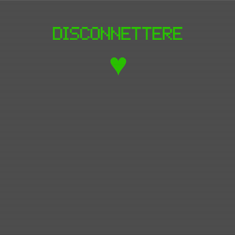 disconnettere-coming soon